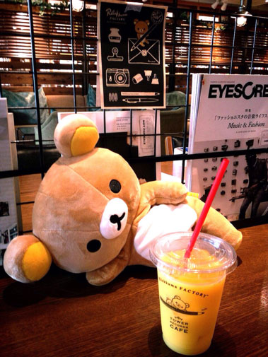 Rilakkuma Tower Records Cafe 2014 - 1
