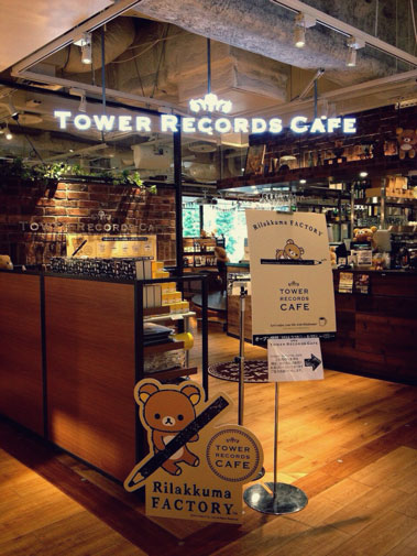 Rilakkuma Tower Records Cafe -2