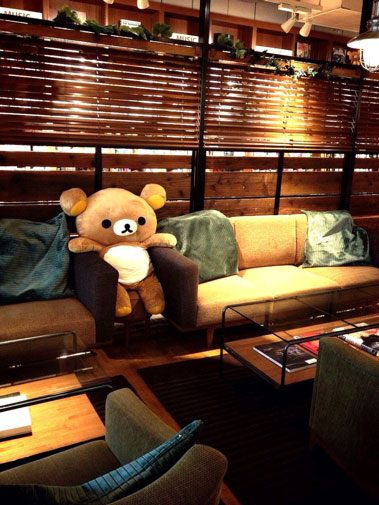 Rilakkuma Tower Records Cafe - 3