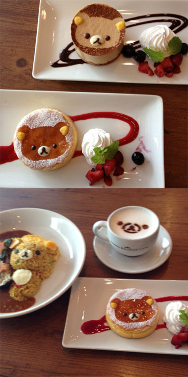 Rilakkuma Tower Records Cafe - 5