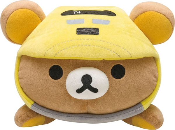 Rilakkuma Meets Dr. Yellow - face close-up
