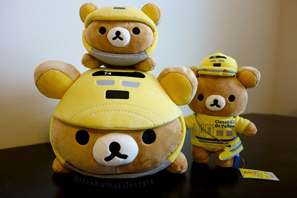 Rilakkuma Meets Dr. Yellow - full