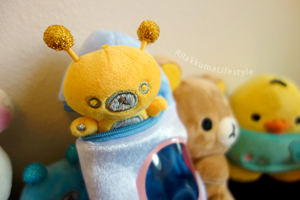 Space Rilakkuma Store/Kiddyland Exclusive - yellow kumartian 1
