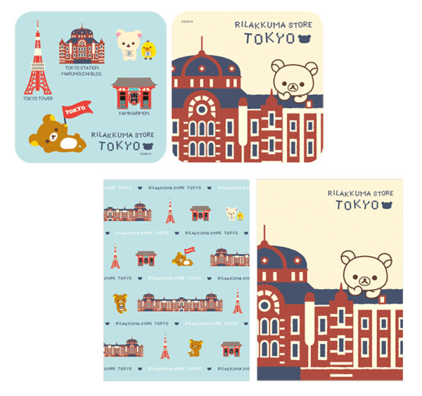 Tokyo Souvenir Series - stickers and folders