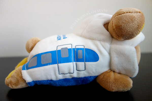 Rilakkuma & Shinkansen - side
