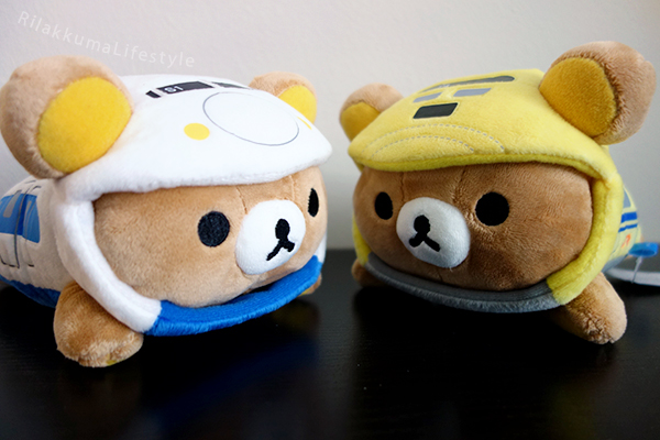 Rilakkuma & Shinkansen - with Dr. Yellow