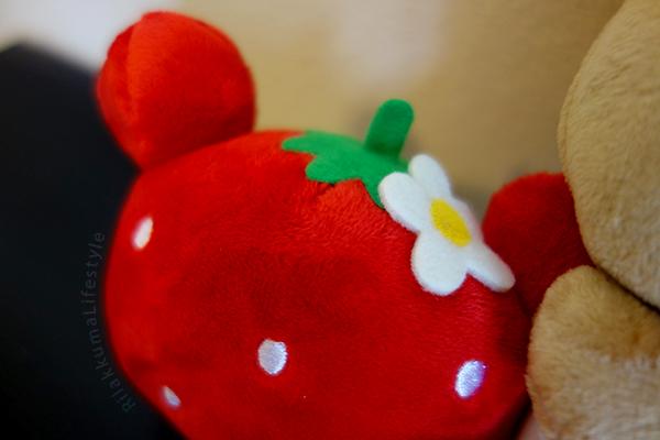 Strawberry Series Caravan - strawberry detail
