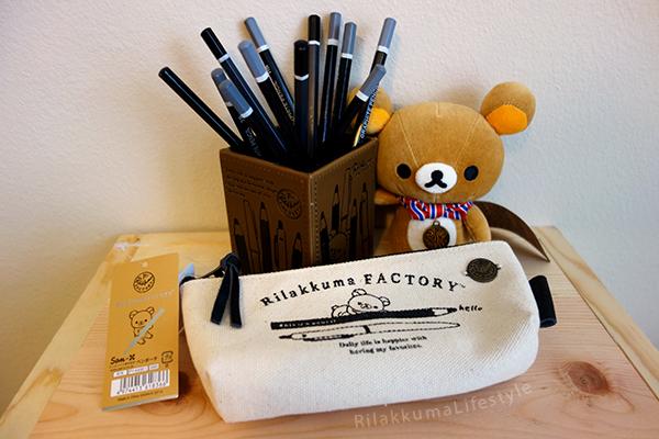 Rilakkuma Factory Series - merchandise