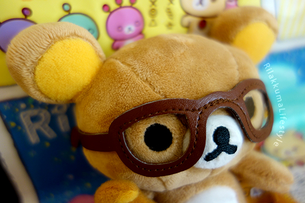 Rilakkuma x JINS PC - glasses detail