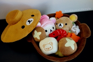 Rilakkuma Hot Pot Set