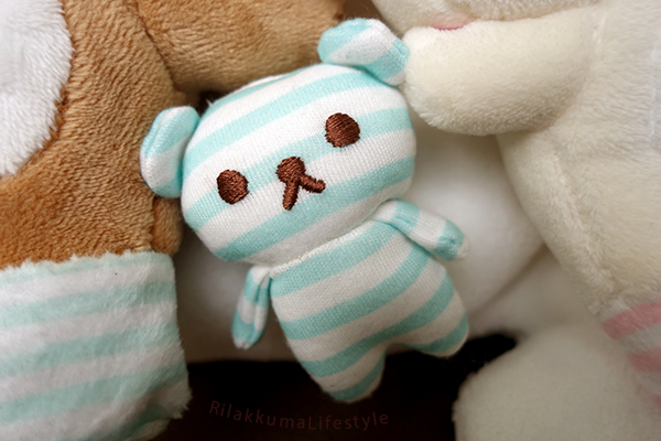 Kobe Rilakkuma Store Opening Plush Set - xiao stripes