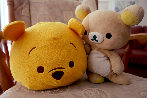 Rilakkuma + Tsum Tsum - Pooh Bear