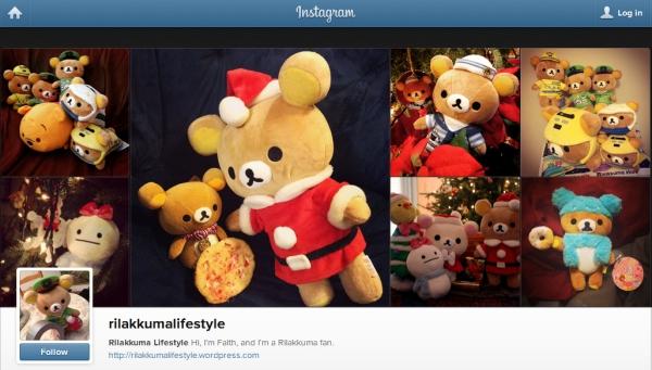 Instagram - Rilakkuma Lifestyle