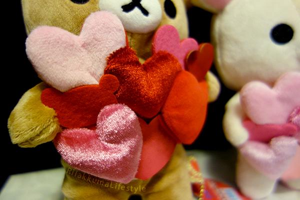 Valentines 2015 Series - Rilakkuma detail
