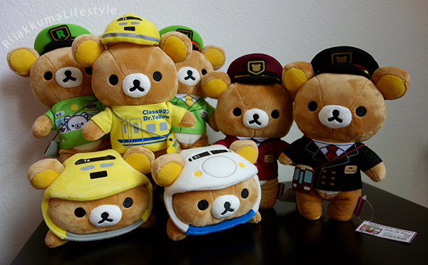 Hankyu x Rilakkuma - transportation collection