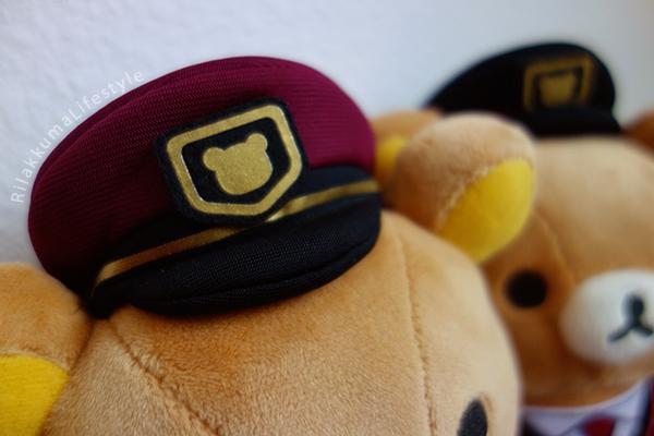 Hankyu x Rilakkuma - 阪急電車× リラックマ - hats 1