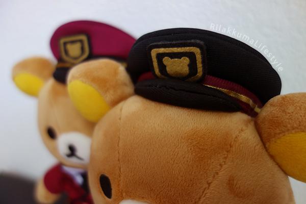 Hankyu x Rilakkuma - 阪急電車× リラックマ - hats 2