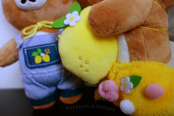 Lemon Series - フレッシュレモン リラックマ - shorts detail