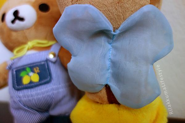 Lemon Series - フレッシュレモン リラックマ - wing detail