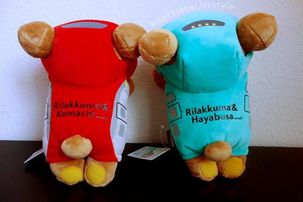 Rilakkuma x Hayabusa x Komachi - リラックマ×はやぶさ×こまち - top view