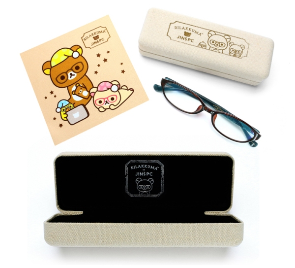 J!NS PC 2 - glasses and case