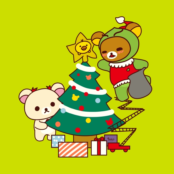 How Rilakkuma Stole Christmas
