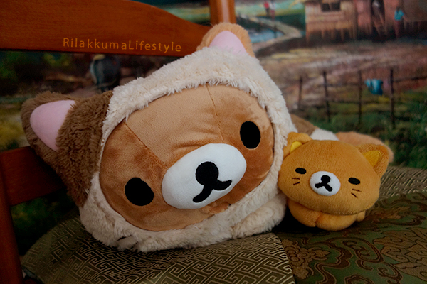 Rilakkuma Cat Series Net Shop Exclusive スぺシャルネコぬいぐるみ - Rilakkuma