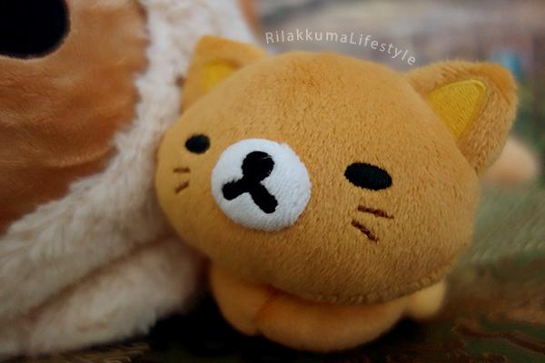 Rilakkuma Cat Series Net Shop Exclusive スぺシャルネコぬいぐるみ - Rilakkuma kitten detail