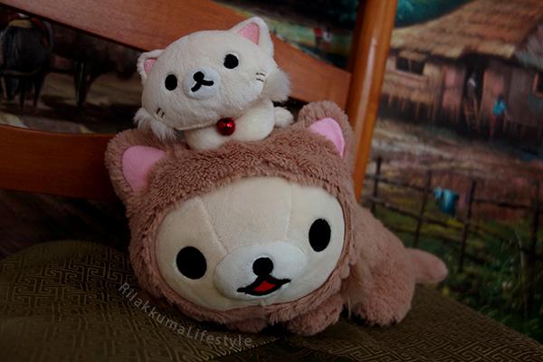 Rilakkuma Cat Series Net Shop Exclusive スぺシャルネコぬいぐるみ - Korilakkuma