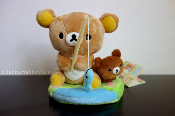 Korilakkuma's New Friend コリラックマと新しいお友達 - Koguma-chan こぐまちゃん - Rilakkuma Store Exclusive - Fishing - full