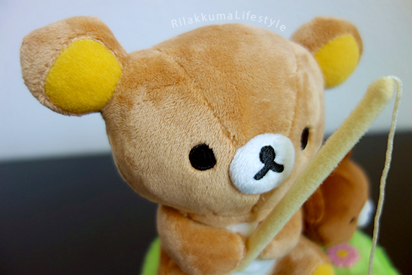 Korilakkuma's New Friend コリラックマと新しいお友達 - Koguma-chan こぐまちゃん - Rilakkuma Store Exclusive - Fishing - Rilakkuma detail
