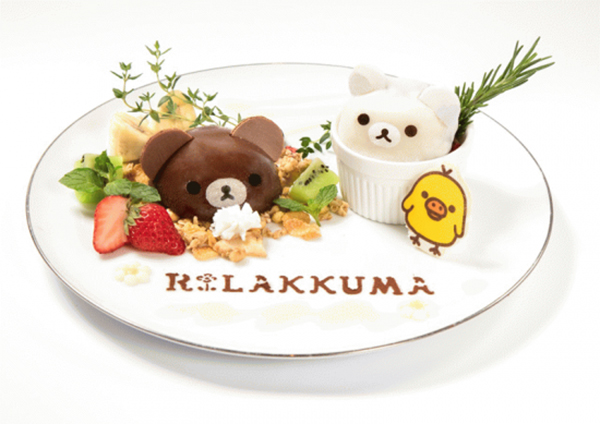 Rilakkuma Cafe - リラックマカフェ - dish