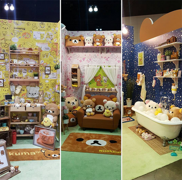 Anime Expo 2016 - Rilakkuma booth