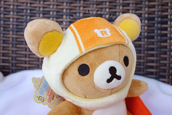 Sapporo Rilakkuma Store 5th Anniversary Series - Bobsled Rilakkuma - リラックマストア札幌店5周年記念 - ボブスレー - あつめてアニバーサリーぬいぐるみ リラックマ - helmet detail