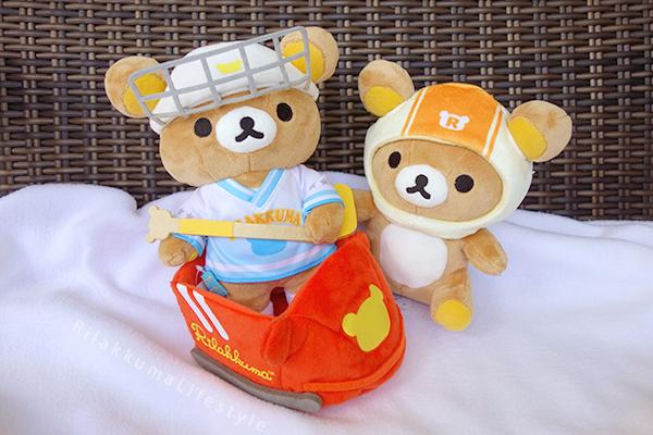 Sapporo Rilakkuma Store 5th Anniversary Series - Bobsled Rilakkuma - リラックマストア札幌店5周年記念 - ボブスレー - あつめてアニバーサリーぬいぐるみ リラックマ - removable bobsled