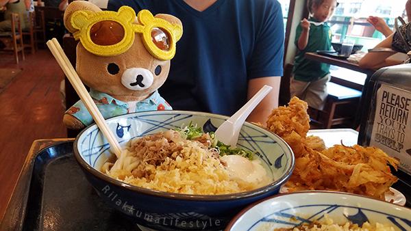 Rilakkuma Lifestyle in Hawaii - Marukame Udon