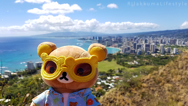 Rilakkuma Lifestyle in Hawaii - Diamond Head Trail