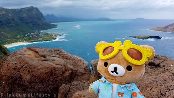 Rilakkuma Lifestyle in Hawaii - Makapu'u Point Lighthouse Trail