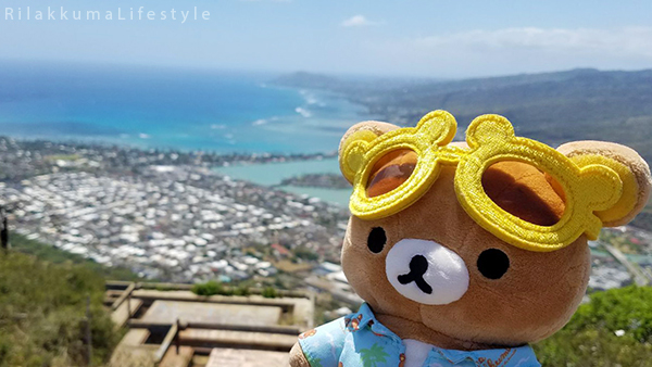 Rilakkuma Lifestyle in Hawaii - Koko Crater Trail
