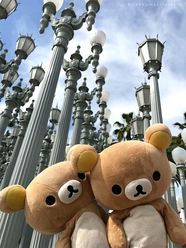 Rilakkuma Lifestyle in Los Angeles LA and Las Vegas - Urban Light
