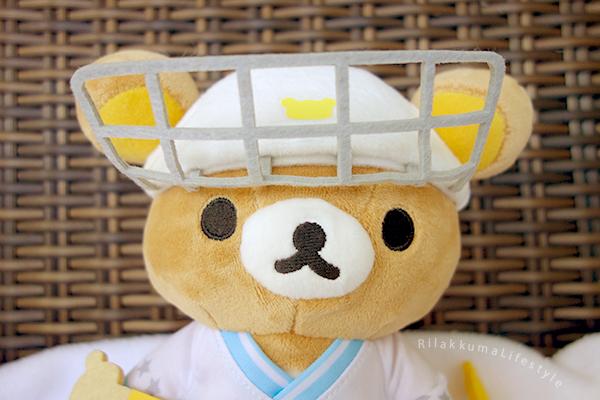 リラックマストア仙台店4周年記念 - あつめてアニバーサリーぬいぐるみ - 氷上のウィンタースポーツ - Sendai Rilakkuma Store 4th Anniversary Plush - helmet cage flip