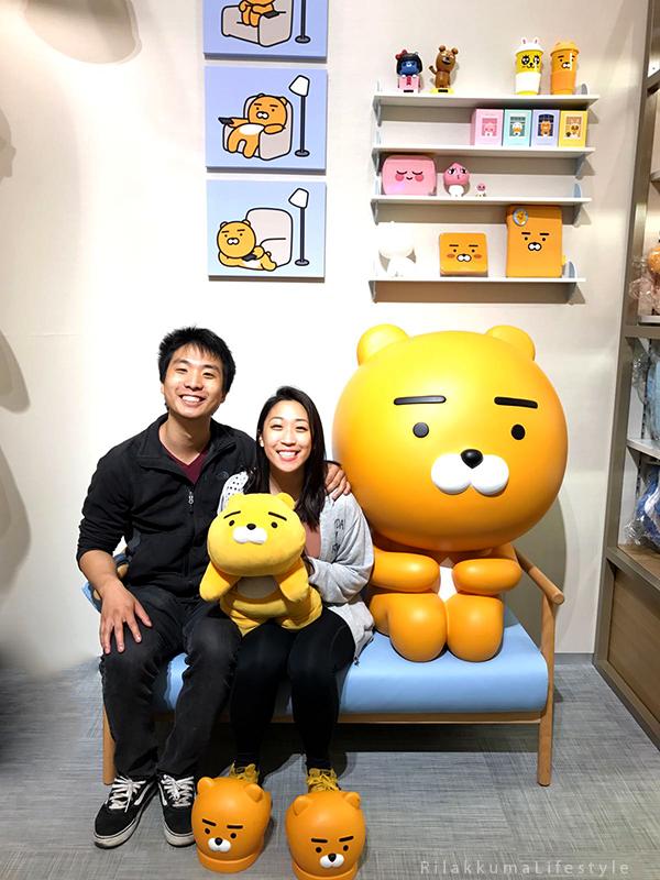 Rilakkuma Lifestyle in Seoul - KAKAO Friends Store - Dongdaemun 동대문