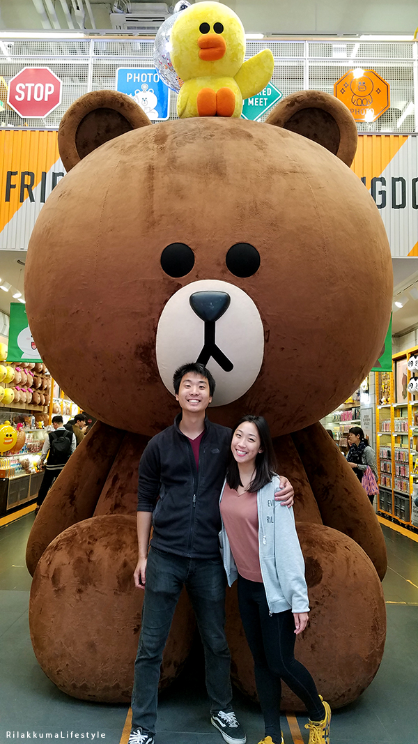 Rilakkuma Lifestyle in Seoul - LINE Friends Store and Cafe - Myeongdong 명동