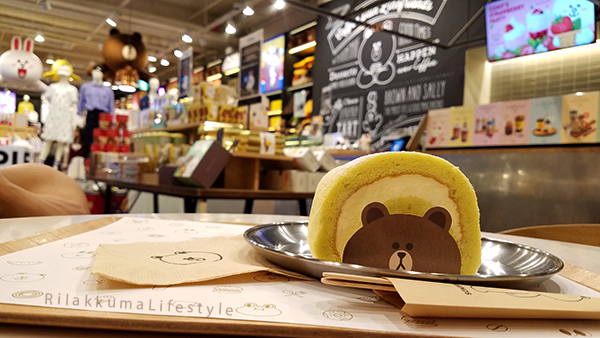 Rilakkuma Lifestyle in Seoul - LINE Friends Cafe - Garosugil 가로수 길