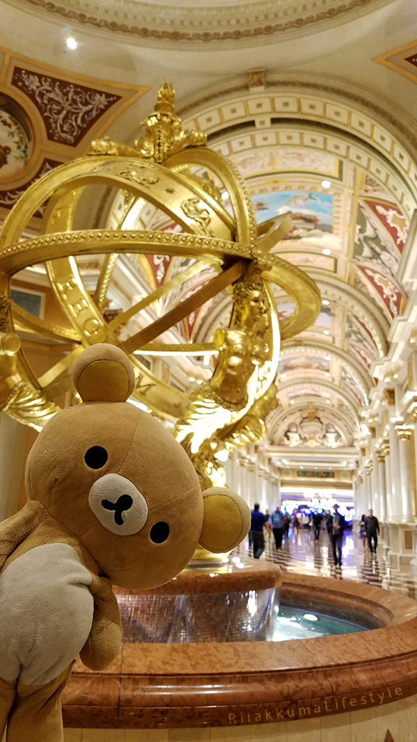 Rilakkuma Lifestyle in Los Angeles LA and Las Vegas - the Venetian