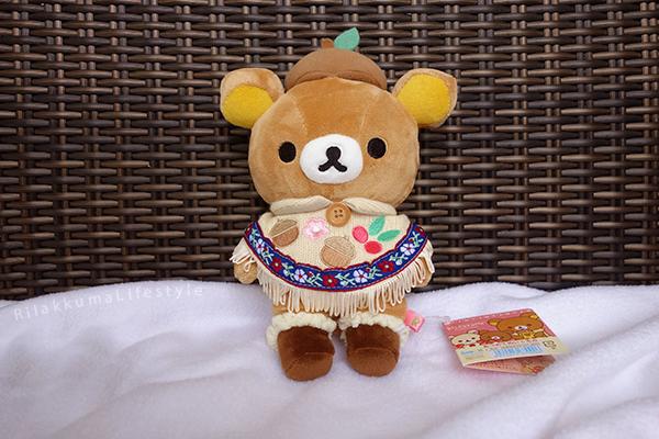 てぶくろをとどけに - あつめてぬいぐるみ - Handmade Mittens Series - Rilakkuma - standard plush - full