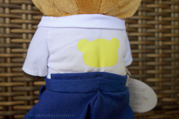 リラックマストア吉祥寺店6周年記念 - 弓道 - あつめてアニバーサリーぬいぐるみ - back detail