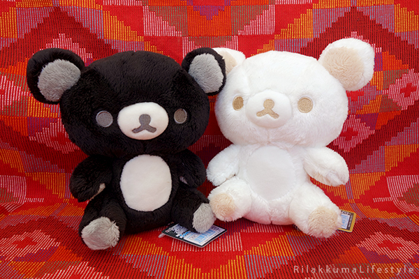 モノクロリラックマ - ぬいぐるみ - 白と黒を基調 - Monochrome Series - Rilakkuma Plush - Black and White Rilakkuma - cover