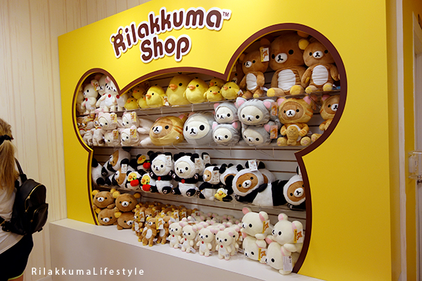 Rilakkuma Lifestyle - Rilakkuma Shop - Soft Opening - Westfield Brandon Center Mall Florida - First Rilakkuma Shop in US - back shelf