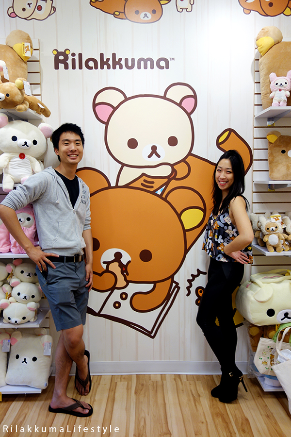 Rilakkuma Lifestyle - リラックマ - Rilakkuma Shop - Grand Opening - Westfield Brandon Center Mall Florida - First Rilakkuma Shop in US - wall display art